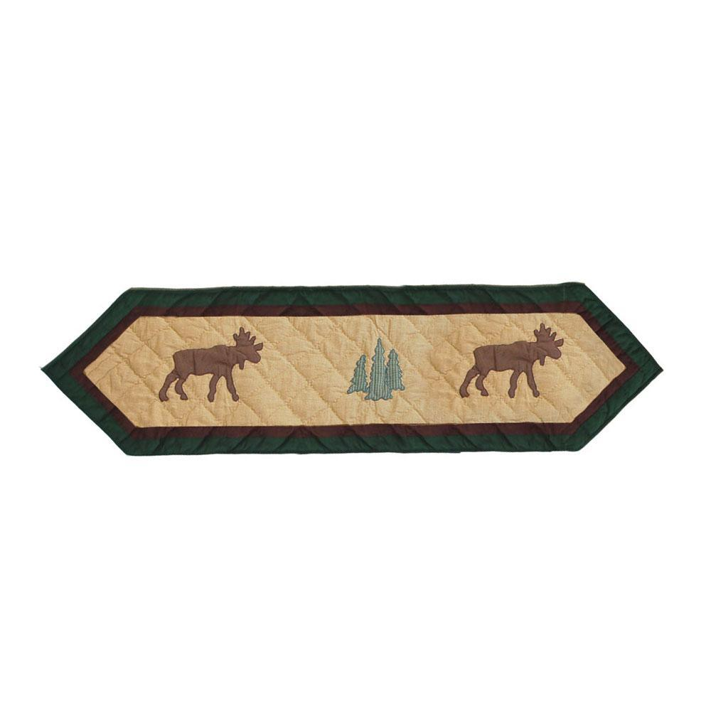 "Cedar Trail Table Runner Short 54""W x 16""L"