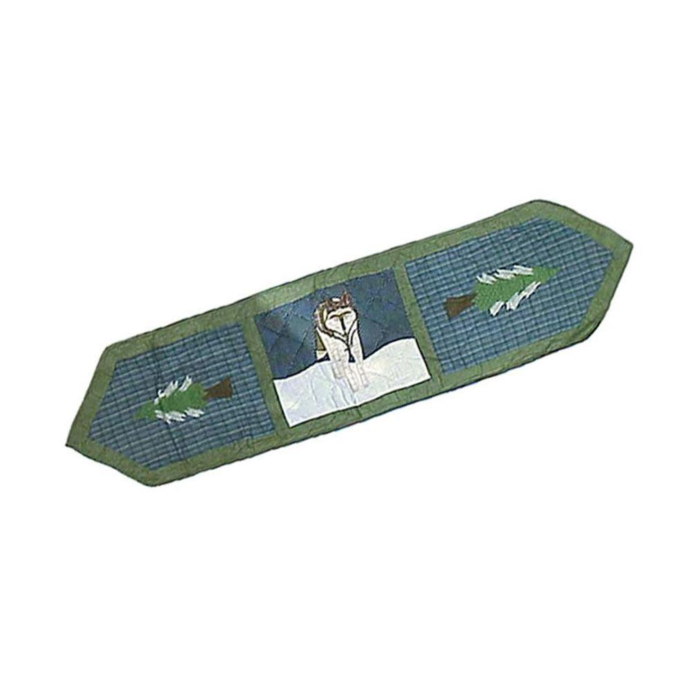 "Wolf Table Runner Long 72""W x 16""L"