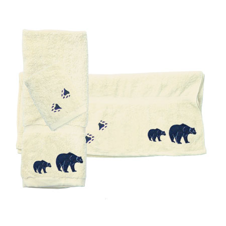 Bear Country Towel Set of 3
