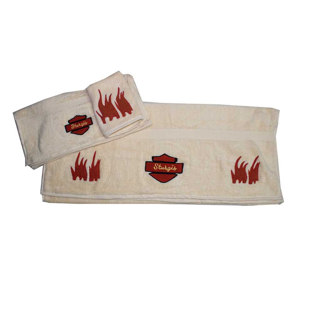 Sturgis towel set of 3